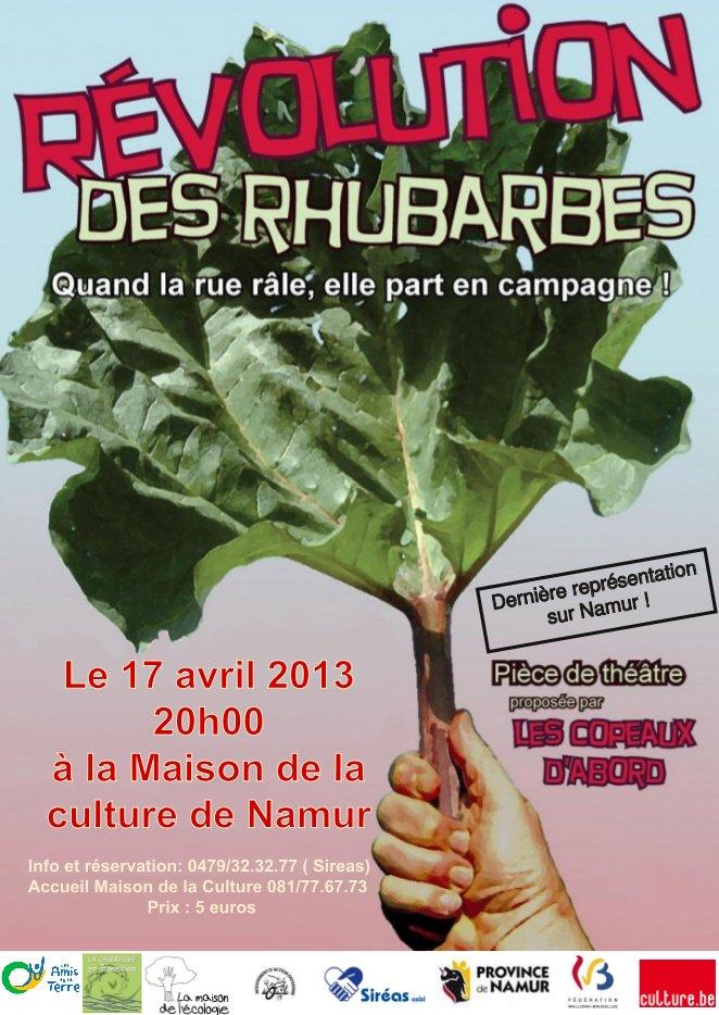 Révolution des Rhubarbes