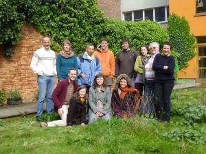 Le groupe de la formation transition intérieure, avril 2014.