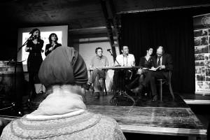 Greet, Noémie, Josué, Rob, Filipa et olivier. Photo de Christiane Désir