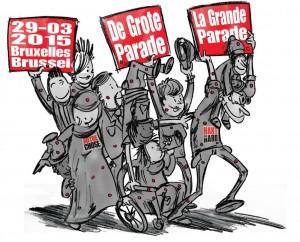 la Grande Parade du 29 mars