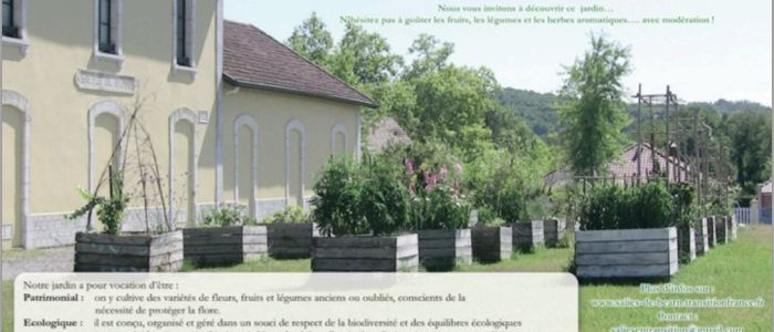 Le jardin collectif Lo Casau, France