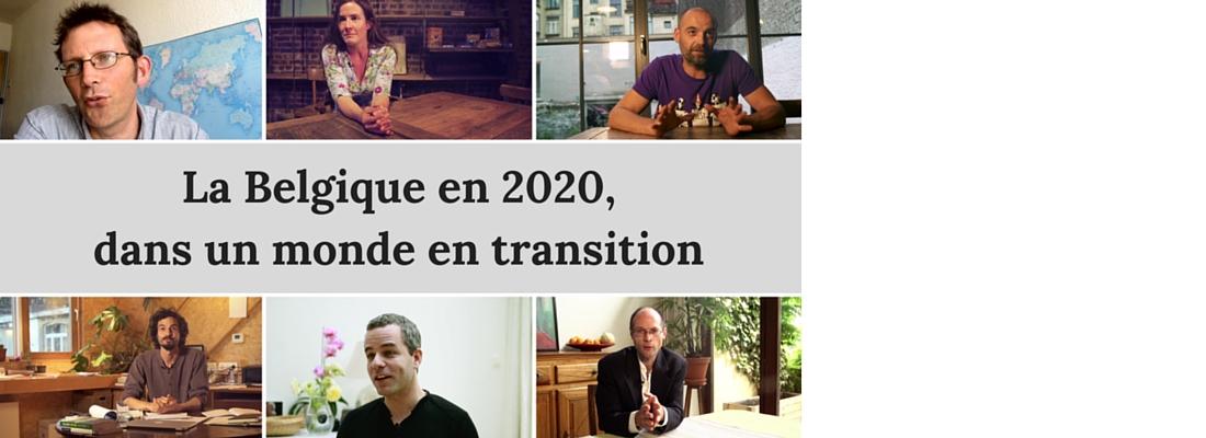 Une vision inspirante de la Belgique en 2020