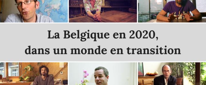 Une vision inspirante de la Belgique en 2020 dans un monde en Transition