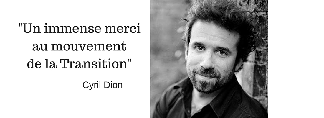 Interview de Cyril Dion