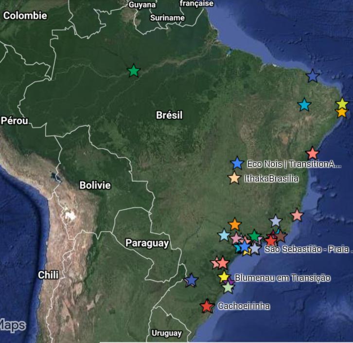 Favelas Bresil Carte.Tour Du Monde De La Transition Bresil Le Pouvoir De Bas