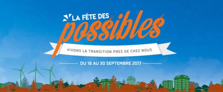La Fête des Possibles – Plus de 150 événements à découvrir jusqu'au 30 septembre