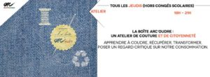 """Atelier de couture et de citoyenneté """"La Boîte Arc'oudre @ ARC      """