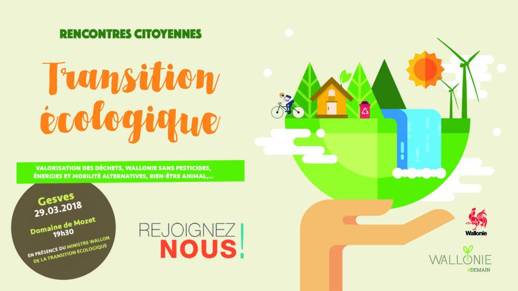 Les rencontres citoyennes de la Transition Ecologique en Wallonie - Gesves @ Domaine de Mozet | Mozet | Wallonie | Belgique