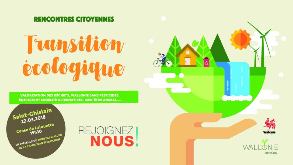 Les rencontres citoyennes de la Transition Ecologique en Wallonie - Saint-Ghislain @ Cense de Lalouette | Belgique