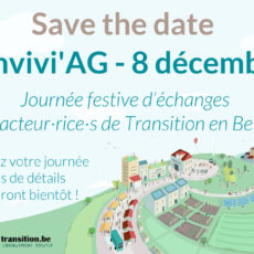 Convivi'AG 2018 – Save the date !