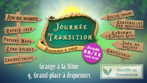 Journée Seneffe en Transition @ Arquennes |  |  |