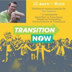 Le 23 mars à Mons – Forums ouverts et conférence de Rob Hopkins