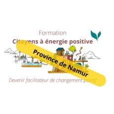 Formation «Citoyens à énergie positive» – Province de Namur
