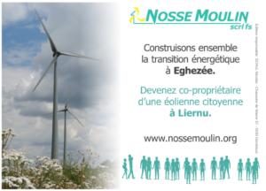 Devenez co-propriétaire d'une éolienne citoyenne à Eghezée @ centre culturel d'Eghezée | | |