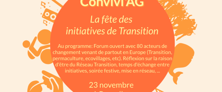 Convivi'AG de la Transition ce 23 novembre – La fête des initiatives de Transition