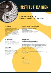 Formation à la communication Kaigen @ La Boite à Zic | | |