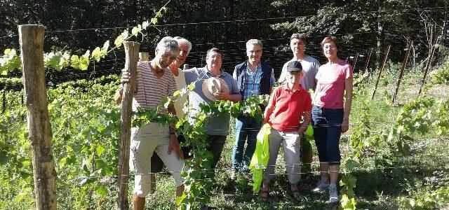 Rencontre à vélo d'initiatives de transition dans le Brabant Wallon