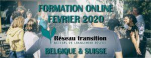 FORMATION : Lancer une initiative de Transition (version en ligne) à partir du 11 février 2020 tous les mardi soir pendant 8 semaines @ Internet