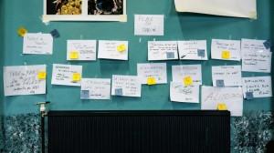 Agenda auto-créé du forum ouvert - Crédit : Fabian Féraux
