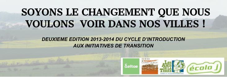 Soyons le changement que nous voulons voir dans nos villes ! Formation à la Transition