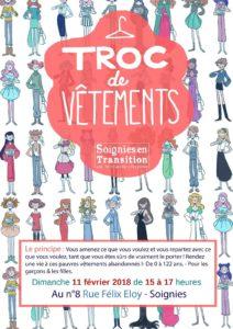 Troc de Vêtements au Café-Couture-Tricot @ Café Couture Tricot | Soignies | Wallonie | Belgique