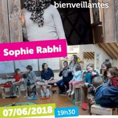 Conférence de Sophie Rabhi ce 7 juin – Pédagogies innovantes & bienveillantes