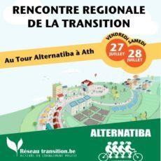 Rencontre régionale de la Transition au Tour Alternatiba à Ath, les 27 et 28 juillet