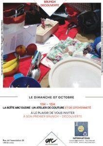 Brunch Découverte organisé par la Boîte ARC'oudre @ ARC (Action et Recherche Culturelles) |  |  |