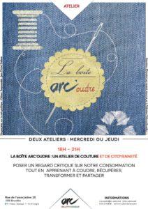 Atelier de couture et de citoyenneté @ ARC | Bruxelles | Bruxelles | Belgique