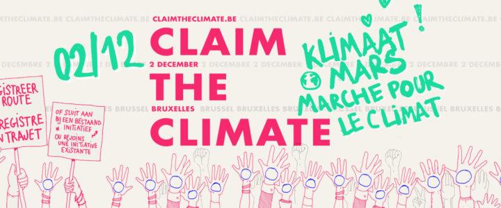 Le mouvement de la transition vous donne rendez-vous à la mobilisation CLIMAT le 2 décembre
