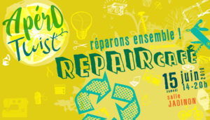 Apéro Twist & Repair Café ! @ Salle Jadinon Walhain      