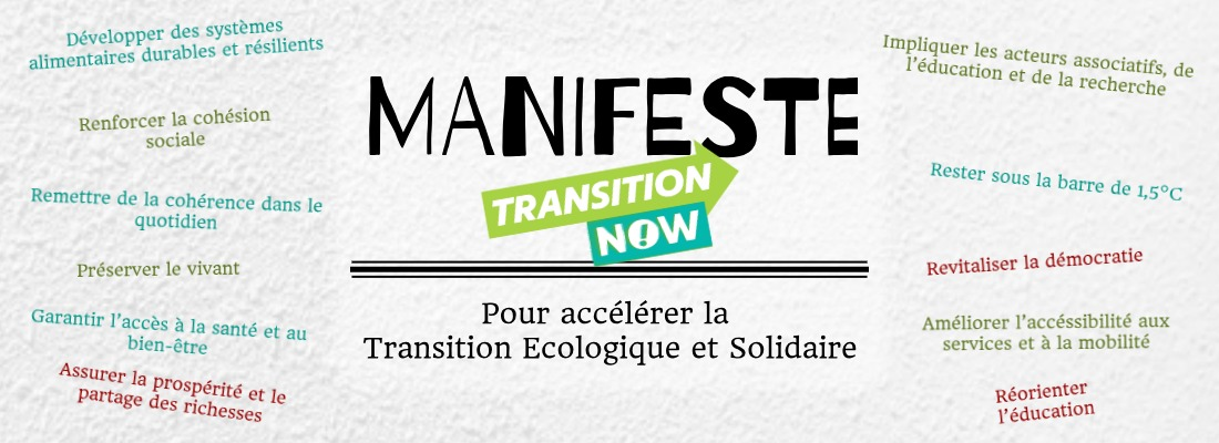 Le manifeste Transition Now