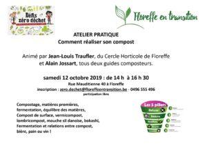 Atelier Zéro déchet - réaliser son compost @ Jardin de Mauditienne | | |