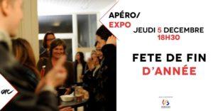 Apéro/Expo : Fête de fin d'année à l'ARC @ ARC - Action et Recherche Culturelles | | |