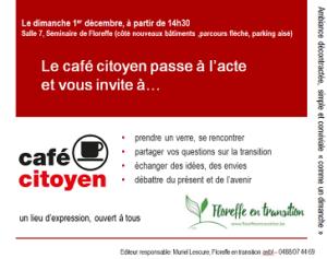 Café citoyen de Floreffe en transition @ Abbaye de Floreffe Séminaire | | |