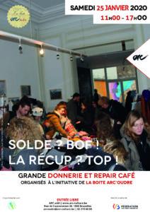 Les Soldes ? Bof ! La Récup ? Top ! (Donnerie et repair café) @ ARC - Action et Recherche Culturelles | | |