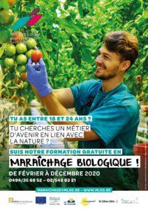 Séance d'information - Formation Maraîchage Biologique @ Mission Locale pour l'emploi de Saint-Gilles |  |  |