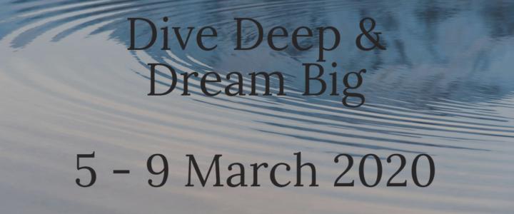 Appel aux bénévoles pour l'événement Dive Deep & Dream Big