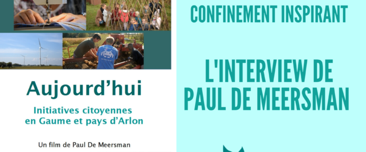 Confinement inspirant: l'interview de Paul De Meersman sur Radio Sud