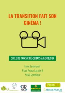 La transition fait son cinéma à Gembloux - Séance 2 : l'énergie @ Foyer communal | | |